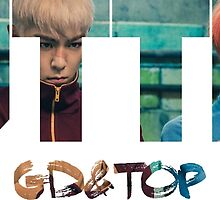 Bigbang GD & TOP 'ZUTTER' Typo 3 by ikpopstore
