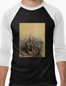 Salted Fauna Men's Baseball ¾ T-Shirt