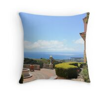 Castle & Clouds Throw Pillow