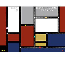 Game Painting Pacman Photographic Print