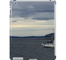 Sailboat on the Puget Sound iPad Case/Skin
