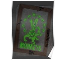 12 Monkeys Dark Poster