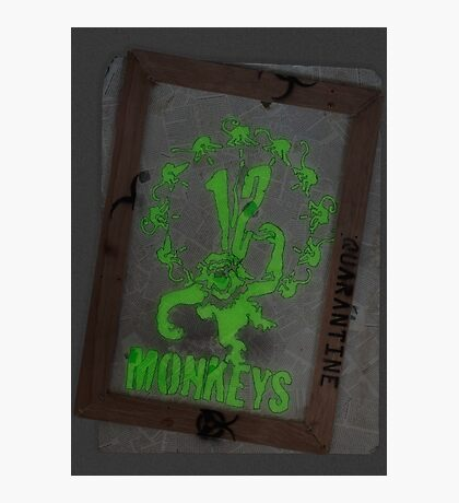 12 Monkeys Dark Photographic Print