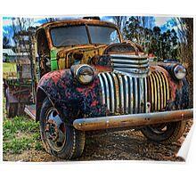 Only one owner - '46 Chevy Poster
