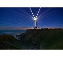 Pigeon Point's 24 Points of Light Photographic Print