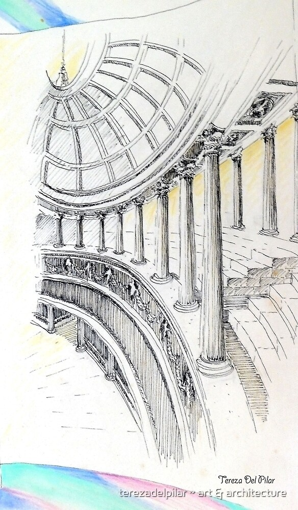 ..columns of a Temple to Beauty... by terezadelpilar~ art & architecture