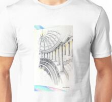 ..columns of a Temple to Beauty... Unisex T-Shirt