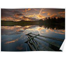 Waiting for the dawn... Loch Moraig, Perthshire Poster