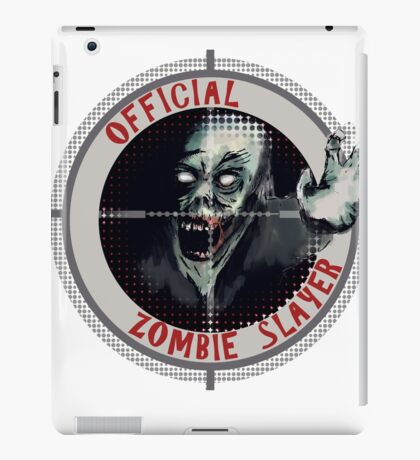 Official Zombie Slayer iPad Case/Skin