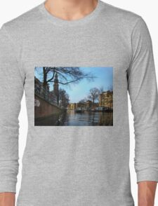Canals Of Amsterdam III Long Sleeve T-Shirt