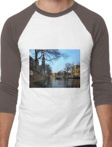 Canals Of Amsterdam III Men's Baseball ¾ T-Shirt