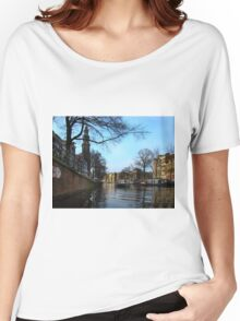 Canals Of Amsterdam III Women's Relaxed Fit T-Shirt