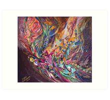 The Purple Stream Art Print