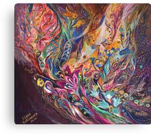 The Purple Stream Canvas Print
