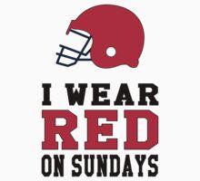 I Wear Falcon Red on Sundays by CanossaBambino