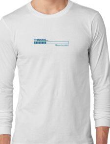 THINKING - (Blue) Long Sleeve T-Shirt