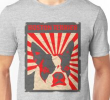Propaganda Boston Terrier Unisex T-Shirt