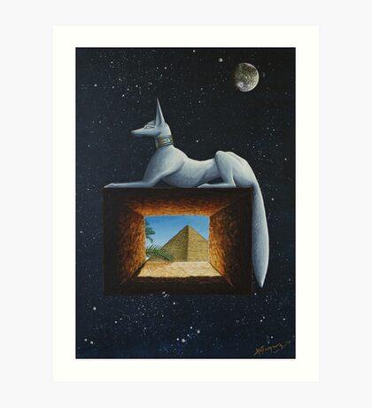 Anubis Art Print