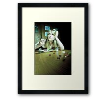 Diets Are Fun Framed Print