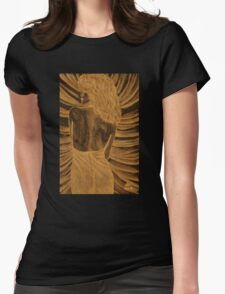 The spider woman Womens Fitted T-Shirt