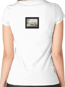 Dessert at a Funeral  Women's Fitted Scoop T-Shirt
