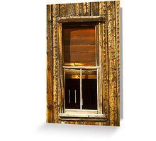 Kirwin Window-Signed-#0223 Greeting Card