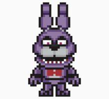 Five Nights at Freddy's - Bonnie Mini Pixel by geekmythology