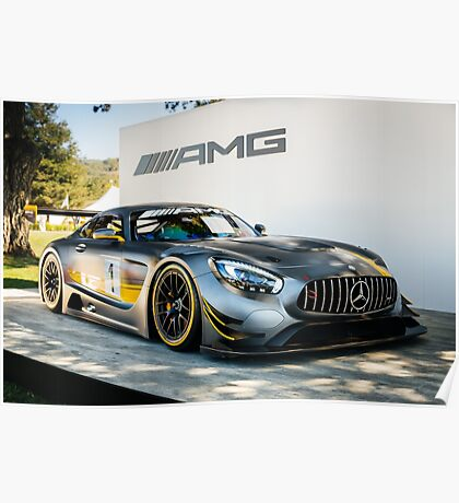 Mercedes-AMG GT3 Poster
