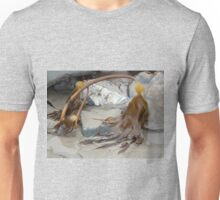 Uncovered By The Tide- Lyme Dorset UK Unisex T-Shirt