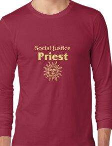 Social Justice Priest Long Sleeve T-Shirt