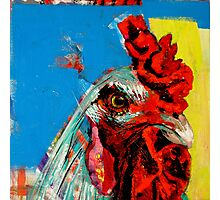 'Labod the Rooster' Photographic Print