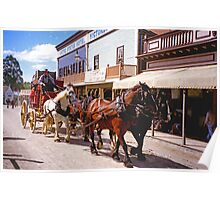 Cobb & Co at Sovereign Hill Poster