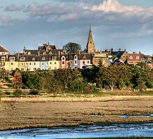 """Autumn in Alnmouth"" by Bradley Shawn  Rabon"