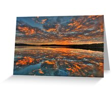 In Reflection - Narrabeen Lakes, Sydney - The HDR Experience Greeting Card