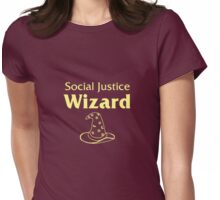 Social Justice Wizard Womens Fitted T-Shirt