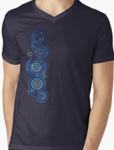 Dr Who's signature Mens V-Neck T-Shirt