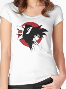 Beast within Women's Fitted Scoop T-Shirt