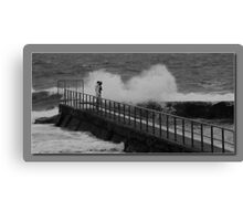 Forster pool Canvas Print