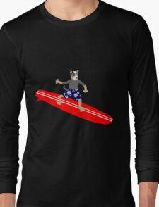 Australian Cattle Dog Surfer Long Sleeve T-Shirt