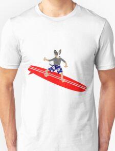 Australian Cattle Dog Surfer Unisex T-Shirt