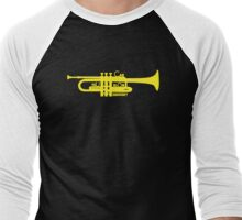 Trumpet ♥ Men's Baseball ¾ T-Shirt