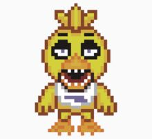 Five Nights at Freddy's - Chica Mini Pixel by geekmythology