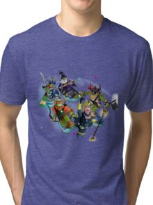 Turtles in Time | Turtle Warriors of Legend Tri-blend T-Shirt