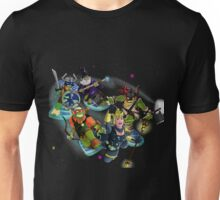 Turtles in Time | Turtle Warriors of Legend Unisex T-Shirt