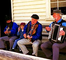 Three Generation Aussie Bush Band by TonyCrehan