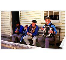 Three Generation Aussie Bush Band Poster