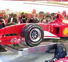 Ferrari shop in Venice, Italy. by Brian220