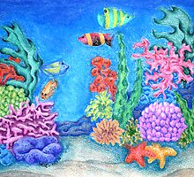 Life on the Reef by Picatso