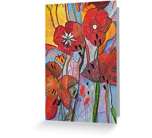Natural selection. Modern, Contemporary painting. Greeting Card