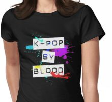 kpop by blood Womens Fitted T-Shirt